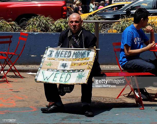 CONTENT] begging for money to buy marihuana
