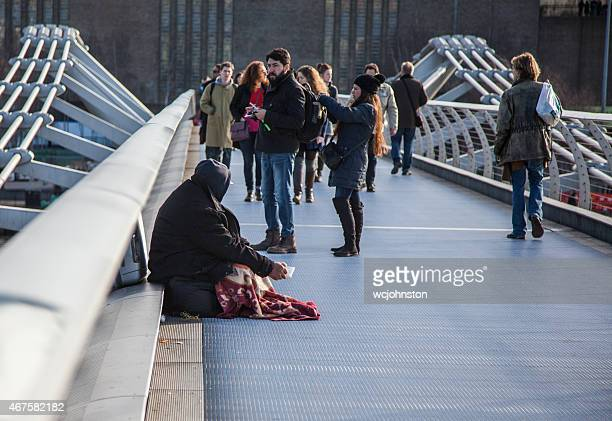 Begging in London