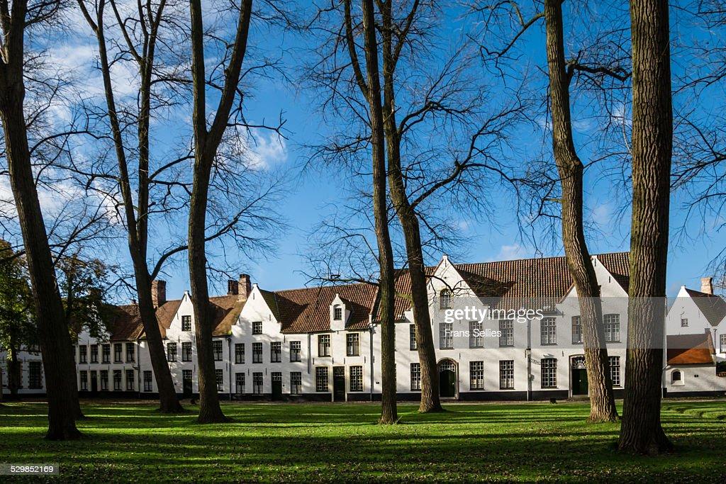 Begijnhof (Beguinage),convent for Benedictine nuns : Stockfoto