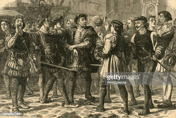 Beginning of the Riot in Cheapside' In 1517 a protest which became known as Evil May Day took place against foreigners living in London From Old and...