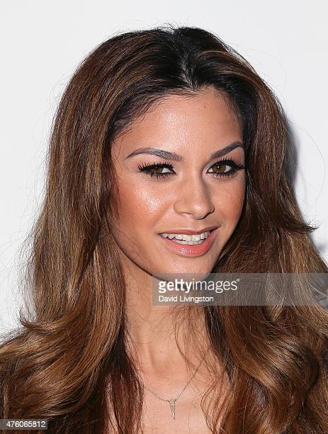 beGlammed cofounder Maile Pacheco attends the Art for Animals fundraiser art event hosted by Alison Eastwood at De Re Gallery on June 5 2015 in West...
