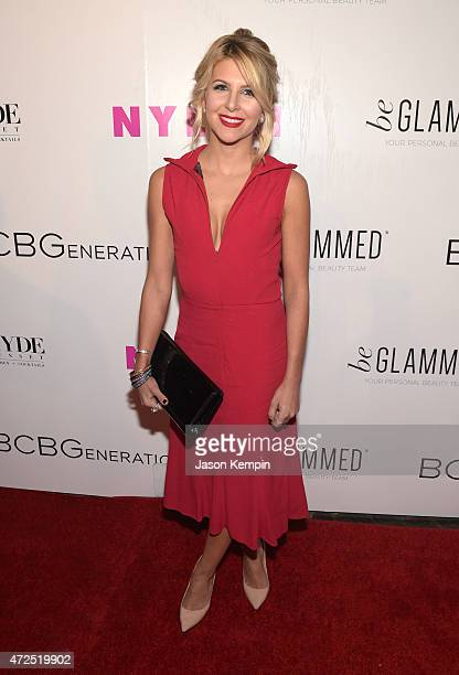 beGlammed's Alexandra Amodio attends the NYLON Young Hollywood Party presented by BCBGeneration at HYDE Sunset Kitchen Cocktails on May 7 2015 in...