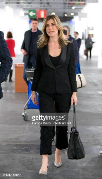 Begoña Gomez attends ARCO Art Fair 2020 at Ifema on February 27 2020 in Madrid Spain