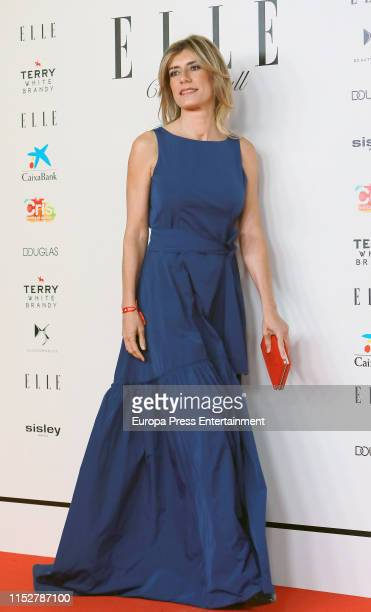 Begoña Gomez attends ELLE Charity Gala 2019 to raise funds for cancer at Intercontinental Hotel on May 30, 2019 in Madrid, Spain.