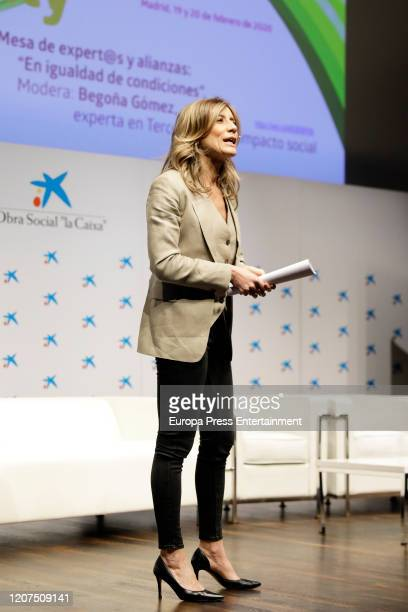 Begoña Gomez attends 'Ruraltivity' press conference at Caixa Forum on February 19 2020 in Madrid Spain