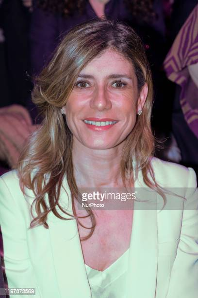 Begoña Gomez during in fashion show during Mercedes Benz Fashion Week Madrid Autumn/Winter 202021 on January 31 2020 in Madrid Spain