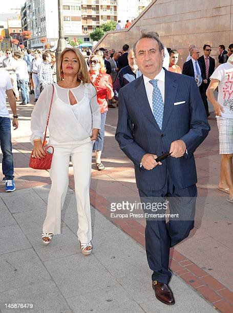 Begona Garcia Vaquero and Pedro Trapote attend Beneficiencia bullfight at Plaza de Toros de Las Ventas on June 6 2012 in Madrid Spain