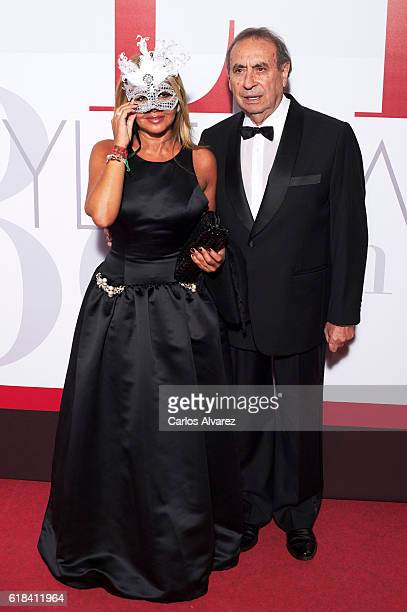 Begona Garcia Vaquero and Pedro Trapote attend ELLE Magazine 30th anniversary party at Circulo de Bellas Artes Club on October 26 2016 in Madrid Spain