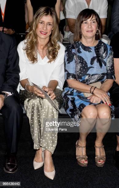 Begona Gomez and Charo Izquierdo attend Ana Locking show at Mercedes Benz Fashion Week Madrid Spring/Summer 2019 at IFEMA on July 10 2018 in Madrid...