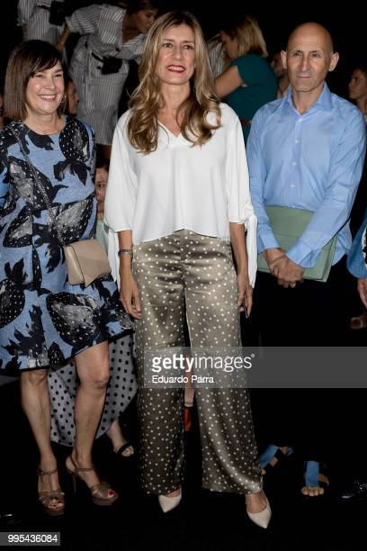 Begona Gomez attends Ana Locking show at Mercedes Benz Fashion Week Madrid Spring/Summer 2019 at IFEMA on July 10 2018 in Madrid Spain
