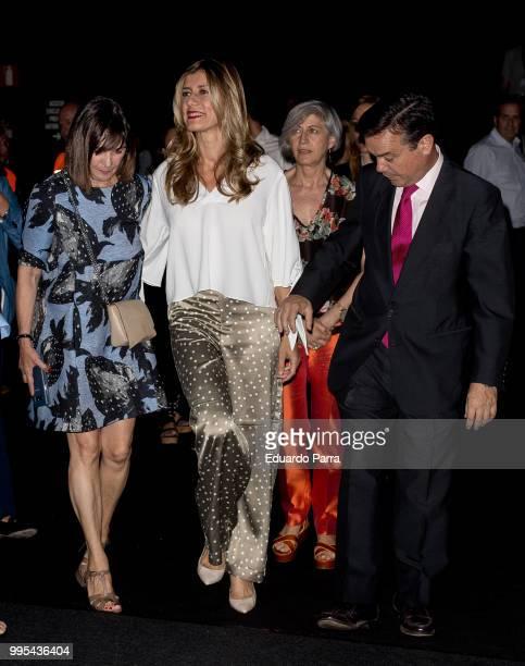 Begona Gomez attends Ana Locking show at Mercedes Benz Fashion Week Madrid Spring/Summer 2019 at IFEMA on July 10 2018 in Madrid Spain