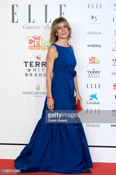 Begona Gomez attends ELLE Charity Gala 2019 to raise funds for cancer at Intercontinental Hotel on May 30, 2019 in Madrid, Spain.