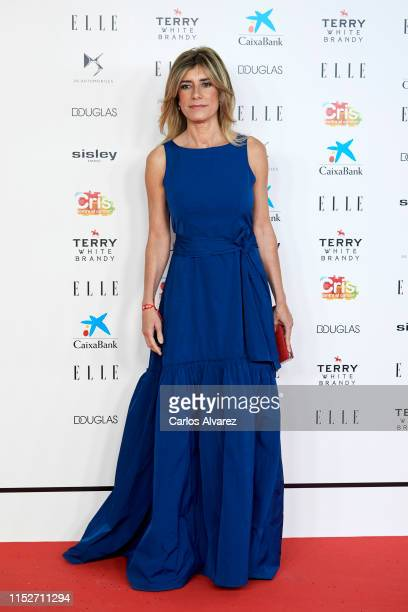 Begona Gomez attends ELLE Charity Gala 2019 to raise funds for cancer at Intercontinental Hotel on May 30 2019 in Madrid Spain