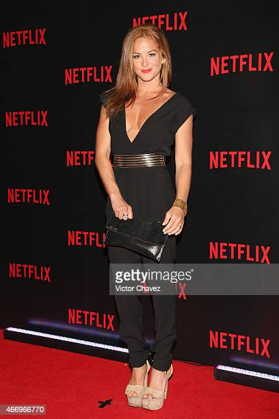 Begona Narvaez attends the NetFlix Award 2015 at Museo Jumex on March 19 2015 in Mexico City Mexico