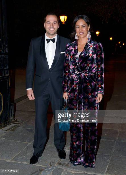 Begona Villacis and Ignacio Aguado attend the XV Marie Claire Prix de la Moda Awards at Florida Retiro on November 7 2017 in Madrid Spain