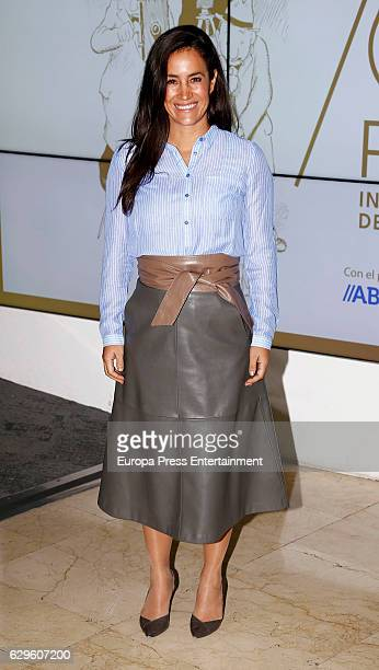 Begona Villacis attends a dinner in honour of 'Mariano de Cavia' 'Mingote' and 'Luca de Tena' awards winners on December 13 2016 in Madrid Spain