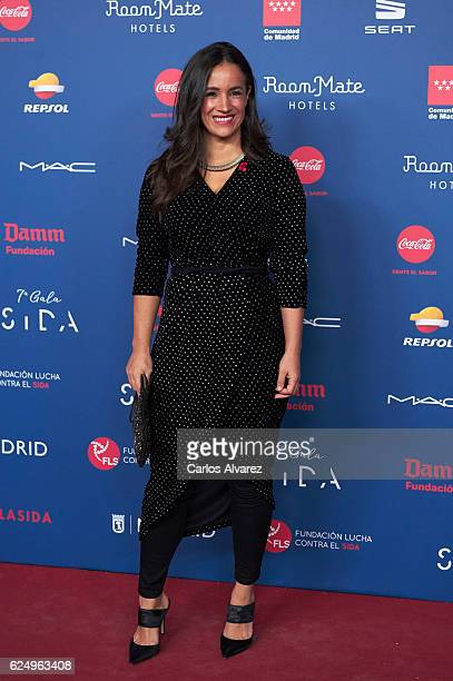 Begona Villacis attends 'Gala Sida' 2016 at Madrid City Hall on November 21 2016 in Madrid Spain