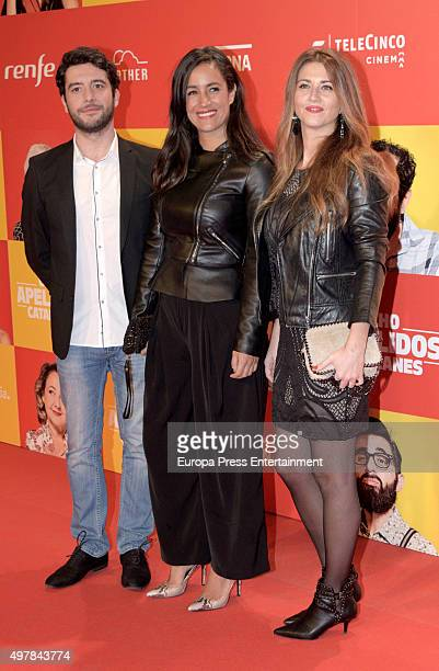 Begona Villacis attends 'Ocho Apellidos Catalanes' premiere at Capitol cinema on November 18 2015 in Madrid Spain