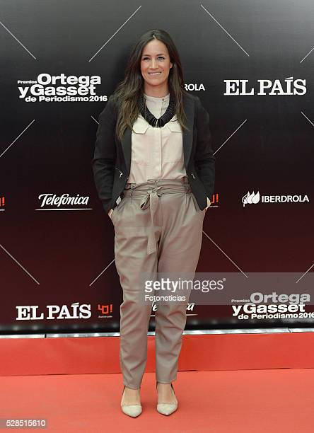 Begona Villacis attends the El Pais 40th anniversary dinner and 'Ortega y Gasset' awards ceremony at the Palacio de Cibeles on May 5 2016 in Madrid...