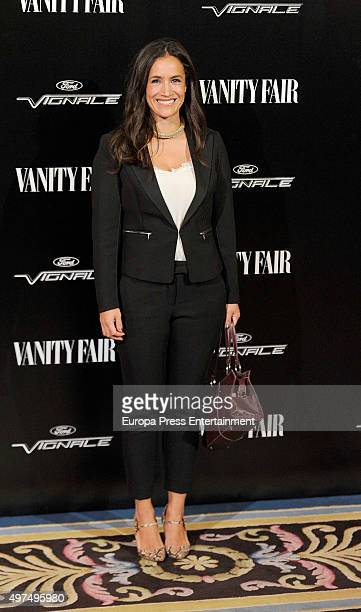 Begona Villacis attends the gala for Placido Domingo as 'Vanity Fair Personality Of The Year' on November 16 2015 in Madrid Spain