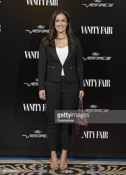 Begona Villacis attends the 'Vanity Fair Personality Of The Year' Gala at The Ritz Hotel on November 16 2015 in Madrid Spain