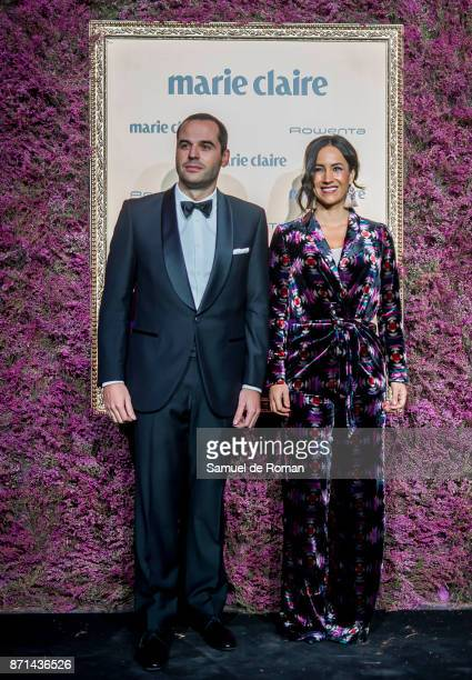 Begona Villacis attends the XV Marie Claire Prix de la Moda Awards at Florida Retiro on November 7 2017 in Madrid Spain