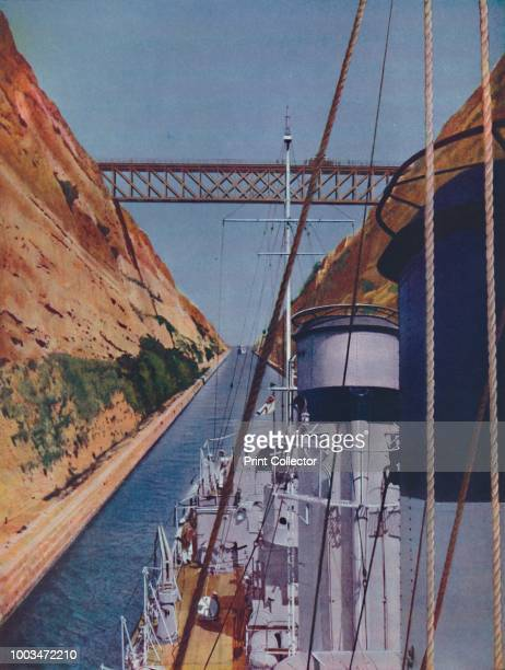 Begun in AD by the Roman Emperor Nero but not completed until 1893 the Corinth Canal considerably shortened communications in the Mediterranean and...