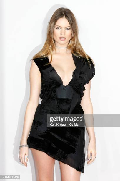 Behati Prinsloo arrives at the 2016 American Music Awards at the Microsoft Theater on November 20 2016 in Los Angeles California EDITORS NOTE Image...