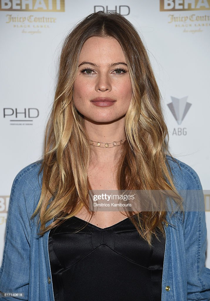 Supermodel Behati Prinsloo Celebrates The Launch Of Behati Juicy Couture Black Label
