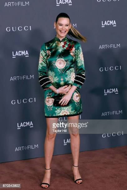 Behati Prinsloo attends the 2017 LACMA Art Film Gala on November 4 2017 in Los Angeles California