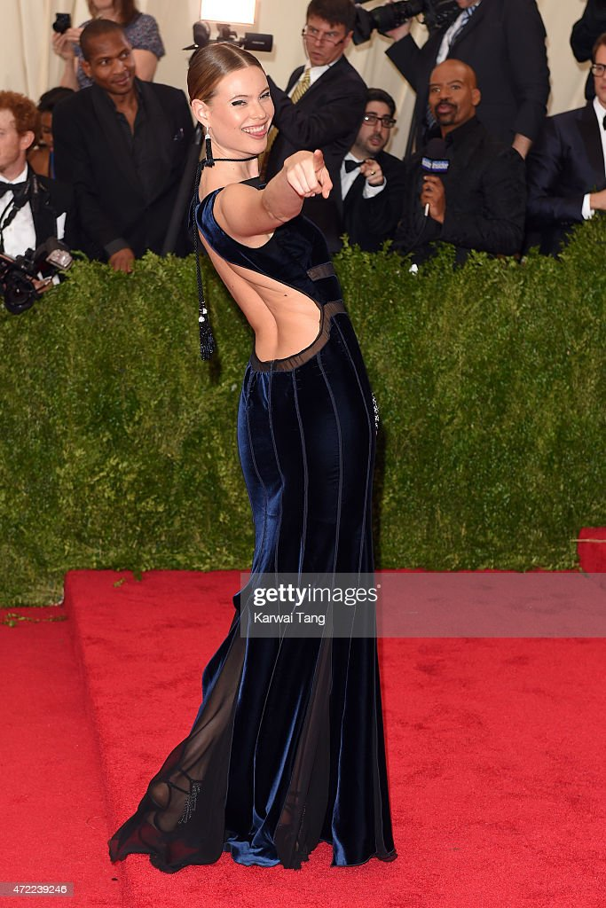 Behati Prinsloo attends the 'China: Through The Looking Glass' Costume Institute Benefit Gala at Metropolitan Museum of Art on May 4, 2015 in New York City.