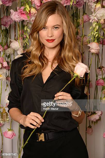 Behati Prinsloo launches 'I Am Juicy Couture' fragrance at The New York Edition on June 25 2015 in New York City
