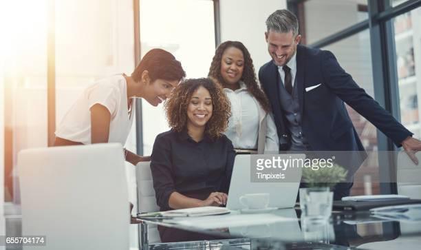 Bakom ett bra samarbete är ett bra team