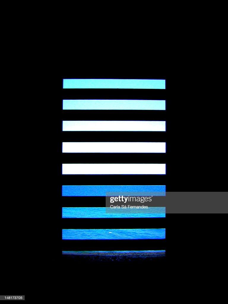 Behind bars : Foto de stock