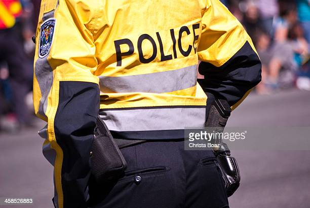 behind police - victoria canada stock pictures, royalty-free photos & images
