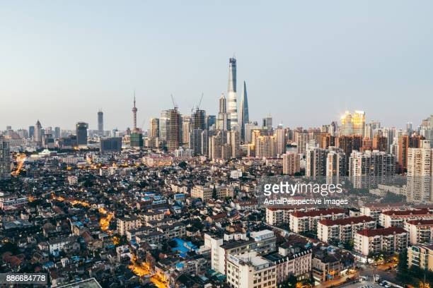 Behind the City of Shanghai