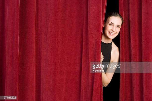 behind the curtain - audition stock pictures, royalty-free photos & images