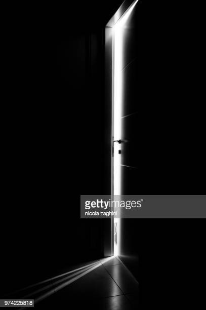 behind the door - ajar stock pictures, royalty-free photos & images