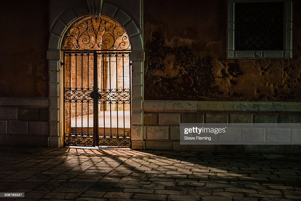 Behind the Gates : Stock Photo