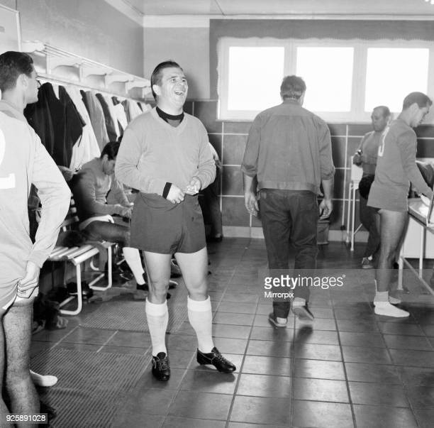 Behind the scenes at Real Madrid Football Club Santiago Bernabeu Stadium Madrid Spain 24th May 1964 Three days prior to European Cup Final v Inter...