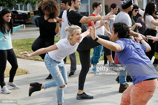 Behind the scenes of 'Grease Live' are photographed for Los Angeles Times on January 14 2016 in Los Angeles California PUBLISHED IMAGE CREDIT MUST...
