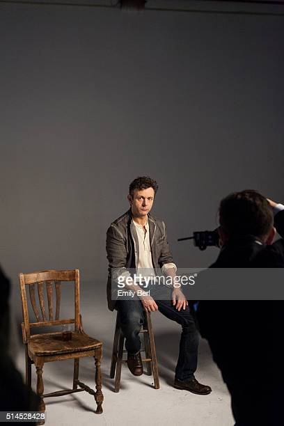 Behind the scenes of The Hollywood Reporter Drama Actor Roundtable with Michael Sheen for The Hollywood Reporter on March 30 2014 in Los Angeles...
