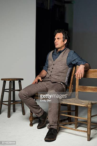 Behind the scenes of The Hollywood Reporter Drama Actor Roundtable with Mark Ruffalo for The Hollywood Reporter on March 30 2014 in Los Angeles...