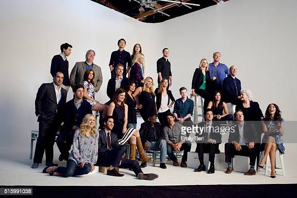 Behind the scenes of The Hollywood Reporter's Emmy Supporting Actor Portrait shoot at Siren Orange Studios for The Hollywood Reporter on May 1 2013...