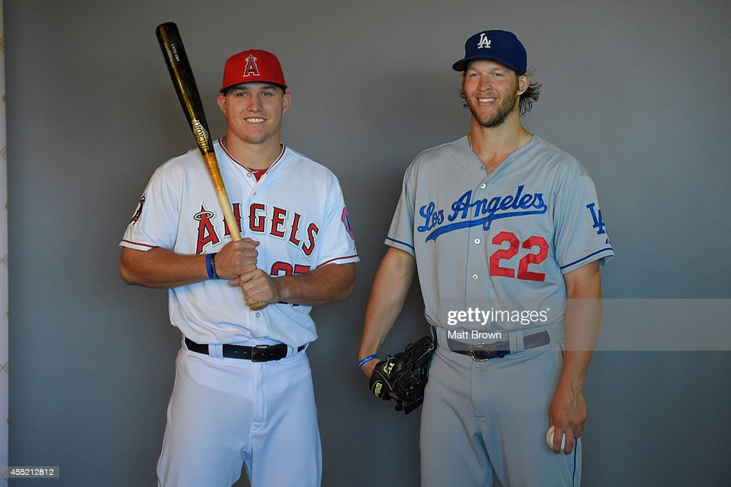Los Angeles Dodgers vs Los Angeles Angels of Anaheim : News Photo