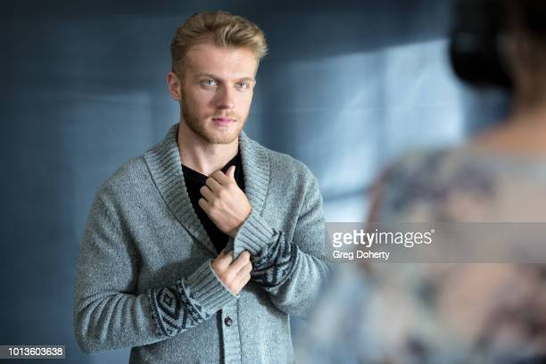 A behind the scenes shot of Actor Robert Netherland as he attends the TAP The Artists Project Giveback Day on August 8 2018 in Los Angeles California