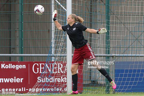 Behind the scenes view pictured during the Allianz Women´s Bundesliga Tour on August 17, 2016 in Willstatt, Germany.