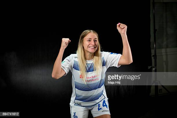 A behind the scenes view pictured during the Allianz Women's Bundesliga Tour on August 24 2016 in Duisburg Germany