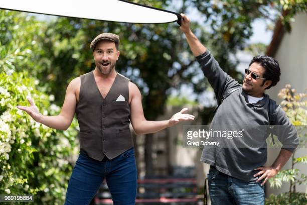 Behind the scenes with Actor Brian Rodda at the Giveback Day at TAP The Artists Project on June 6 2018 in Los Angeles California