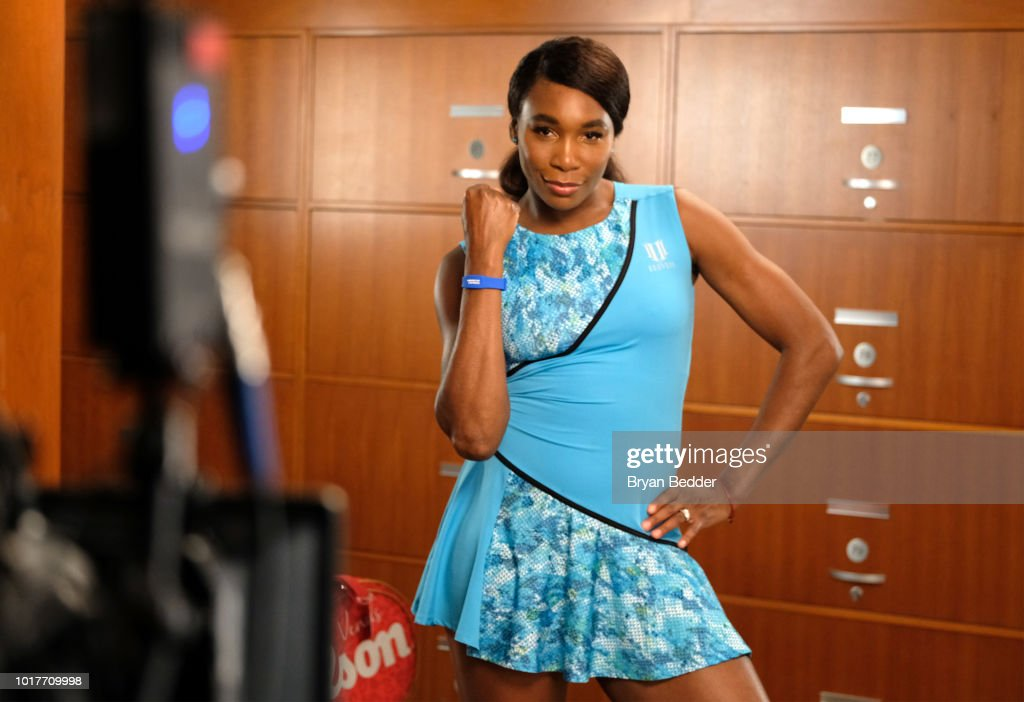 Behind the scenes with American Express and Venus Williams ahead of The 2018 US Open on July 19, 2018 in New York City.